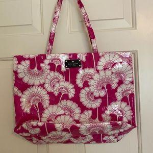 Kate Spade Pink Floral Tote Bag